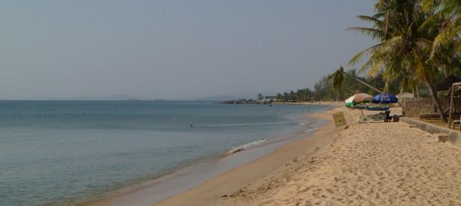 L'arrivée à Phu Quoc, île au sud du Vietnam